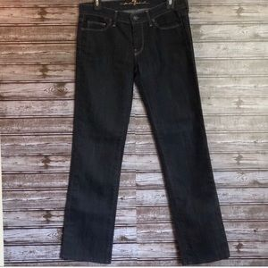 7 for All Mankind Gold Digger Dark Denim Jeans